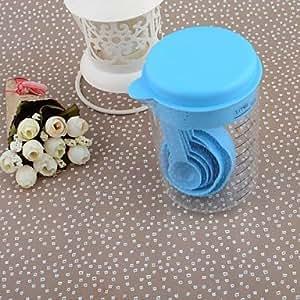 INFINITY-1201 Environmental Plastic Cup Spoon Set Measuring Cup 500ML Measuring Spoon
