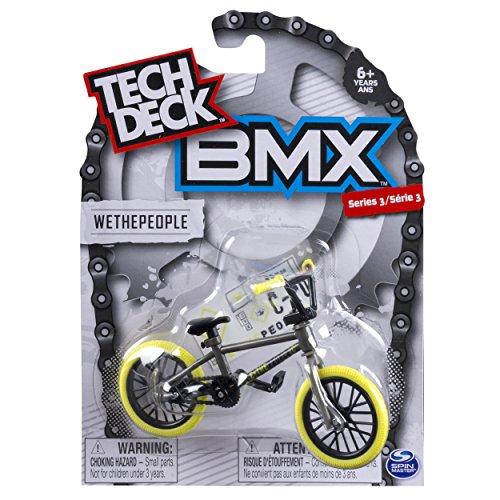 Tech Deck - BMX Finger Bike - WeThePeople - Grey/Yellow