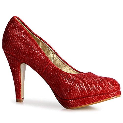 Femmes Femmes Topschuhe24 Pompes Topschuhe24 Rouge Topschuhe24 Rouge Pompes Femmes Pompes Rouge aq8wEE67