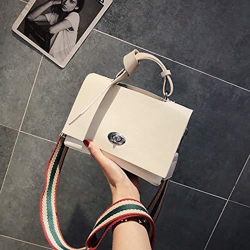 à Messenger Lady Sacs bandoulière Sac Blanc Messenger Bag Large Simple Bag à atmosphère Main Sauvage rétro Main Bande WSLMHH EIxw1Aqd1