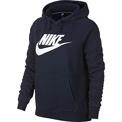 buy online 52f0b 74ad0 Amazon.com  Nike Sportswear Rally Hoodie Womens  Clothing