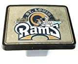 NFL St. Louis Rams Trailer Hitch Cover Plug for Cars, Trucks, SUVs