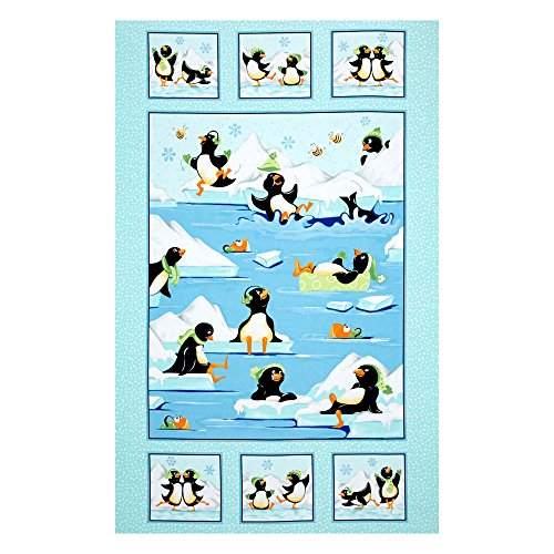 penguin quilt fabric - 1