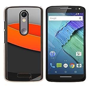 Cubierta protectora del caso de Shell Plástico || Motorola Moto X ( 3rd Generation ) || Olas mínimas de luz @XPTECH