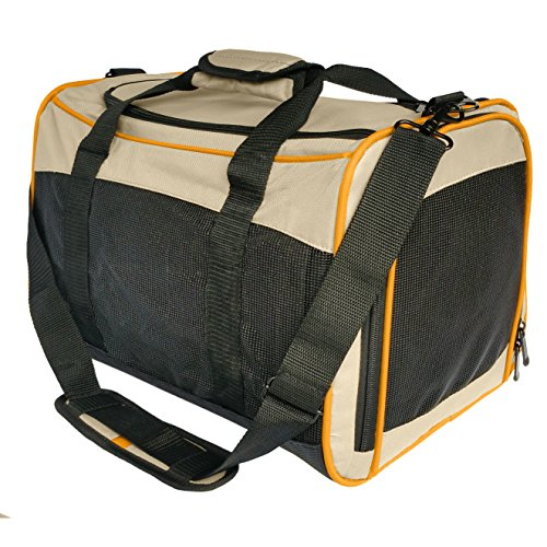 Kurgo Wander Pet Carrier, Soft-Sided Pet Travel Carrier for Dogs and Cats, Airline Compliant, ()