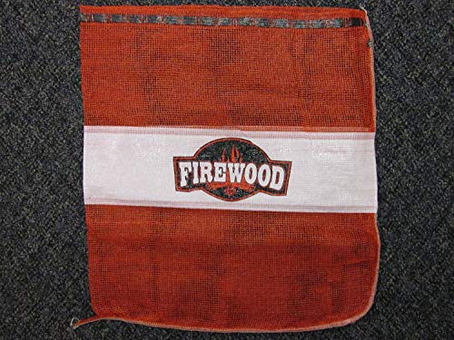 Mesh Firewood Bags .75 Cubic Foot - 100 Per Pack