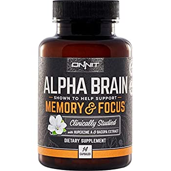 Amazon Com Onnit Alpha Brain 14ct Nootropic Brain Booster