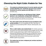 MOTOROLA 24x8 Cable Modem, Model MB7621, DOCSIS