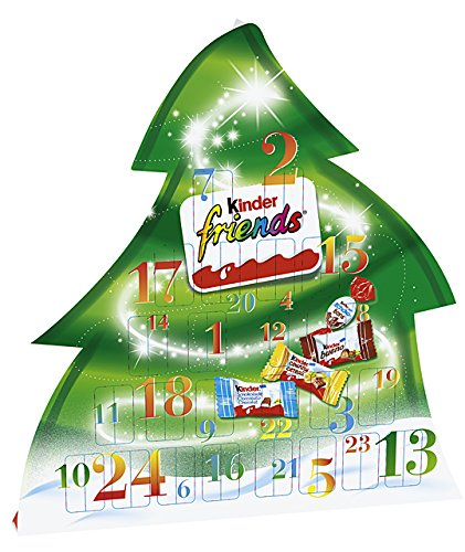 Ferrero Kinder Friends Advent Calendar Fir - 135g 5035