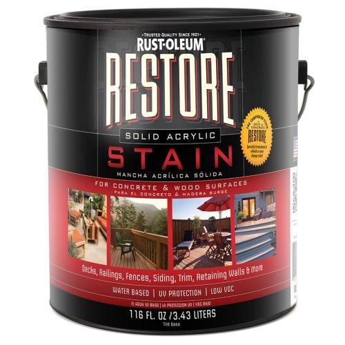 UPC 717650470724, Restore 47072 1-Gallon Solid Acrylic Stain, Fern
