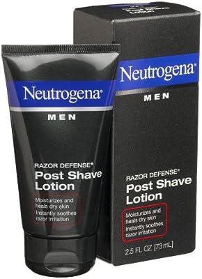 Neutrogena Hombres Razor defensa post afeitado loción, 2,5 oz (Pack de 4): Amazon.es: Belleza