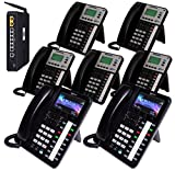 XBLUE X50 System Bundle with (7) Phones Includes (2) X4040 Vivid Color Display IP Phone & (5) X3030 IP Phones (X504235)