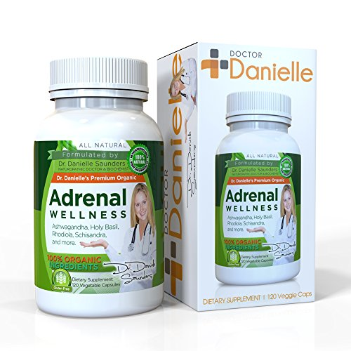 Dr. Danielle Adrenal Wellness with Ashwaganda, Rhodiola, Schisandra and more Adrenal & Cortisol Herbal Supplement Review