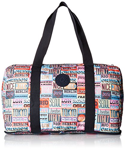 Kipling Women's Honest Printed Packable Duffle Bag, Hlloweeked by Kipling