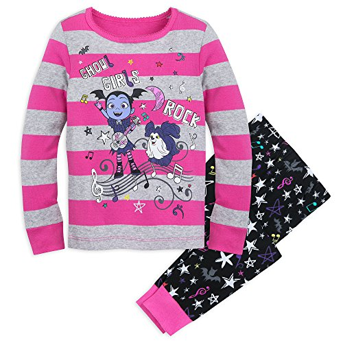 Disney Girls Vampirina 2-Piece Fleece Pajama Set