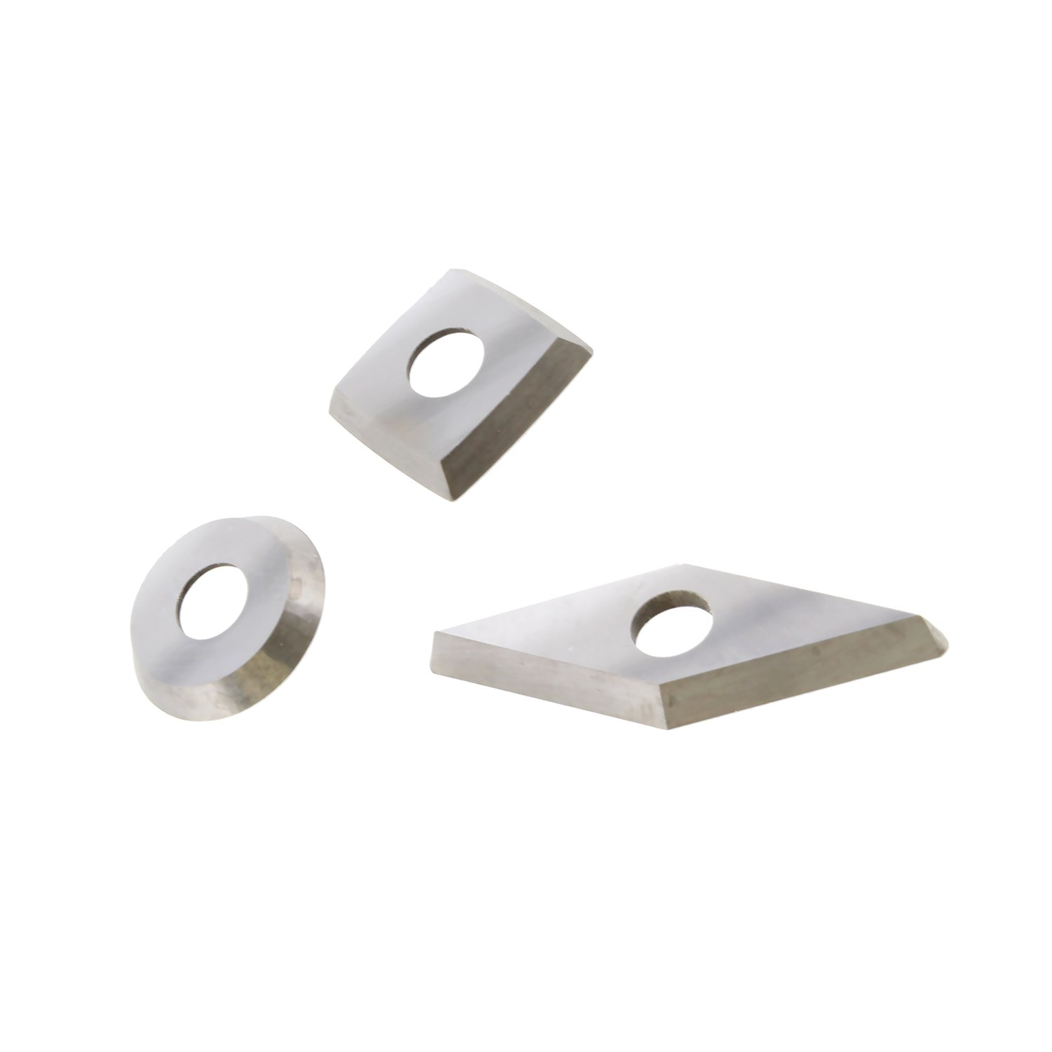Round DCT Square Parting Replacement Blades for Carbide Pen Turning Tools Wood Turning Tools Carbide