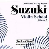 Suzuki Violin School, Volume 5 (CD) (Suzuki Method)