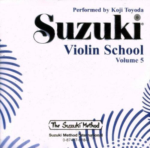 Suzuki Violin School, Volume 5 (CD)