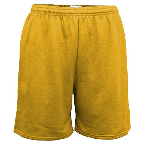 - Soffe Heavy Weight Gold Jersey Short-2XL