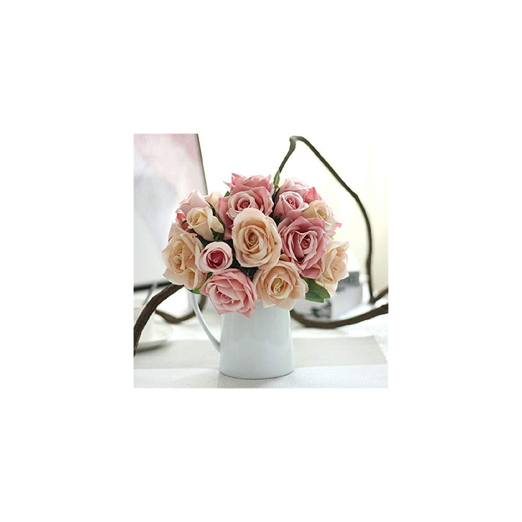 Wedding Bouquet Roses Holder Wedding Flowers Bridal Bouquets Artificial Bridesmaids Accessories Wedding Bouquet,Rose Red