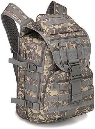 XinFeng 40-Liter-Militär-Fan-Tasche Reiserucksack Taktische Tasche Outdoor-Rucksack Camouflage Bergsteigenbeutel 40L