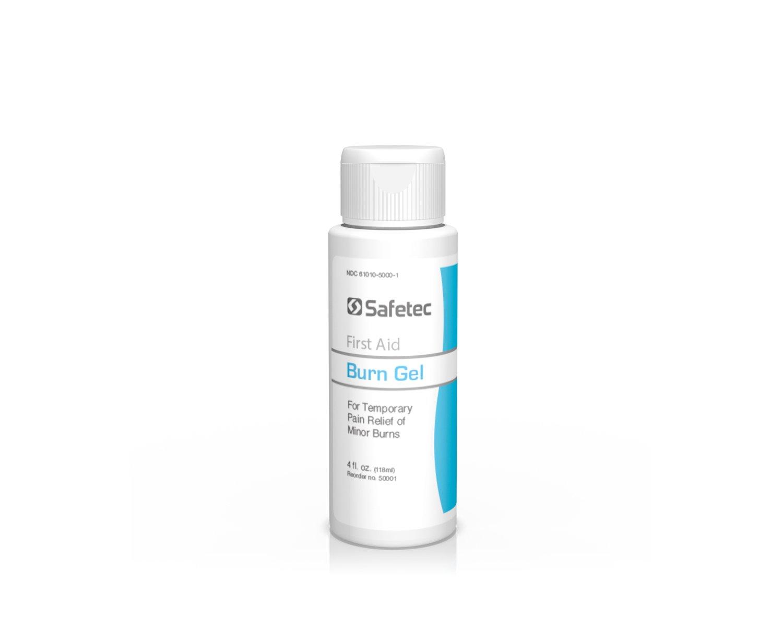 Safetec Burn Gel, 4 oz. Squeeze Bottle (24 Bottles/case)