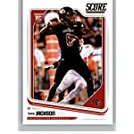 3335a5673 2018 Score  352 Lamar Jackson Louisville Cardinals Rookie RC Football Card