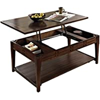 Steve Silver Company Crestline Lift-Top Cocktail Table with Casters