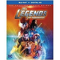 DC's Legends of Tomorrow: The Complete Second Season arrives on Blu-ray and DVD on August 15 from Warner Bros