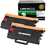 LINKYO Replacement for Brother TN850 TN-850 TN820 Toner Cartridge (Black, High Yield, 2-Pack)