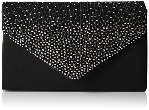 Envelope Bag Noir Sac Abby Style Swankyswans Black Diamante nEWHqWI