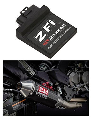 Combo Exhaust Systems - Bazzas F441 Z-Fi Fuel Controller & Yoshimura 070BG141200 RS-2 Exhaust System Combo Kit - Kawasaki Z125 Pro