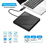 External DVD Drive USB 3.0 USB C CD Burner Amicool
