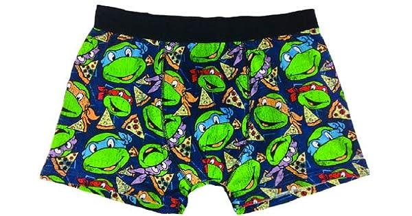 Turtles - Calzoncillos tipo bóxer, diseño de tortugas y ...