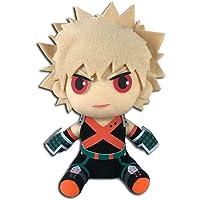 """My Hero Academia S2- Bakugo Hero Costume Sitting Plush 8""""H"""