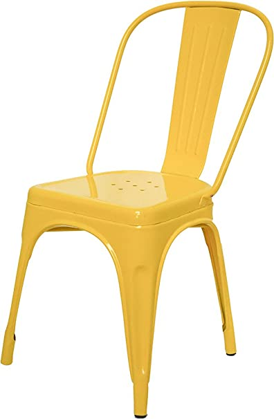 Dezaro DZ1021 Chair (Yellow)