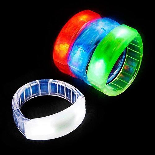 Rhode Island Novelty 8.5'' Light-Up Bracelet