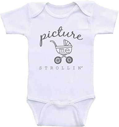 MARTHLORES Baby Cotton Short-Sleeve Bodysuit Hello Baby Funny Infant Onesies