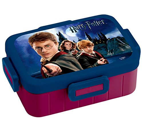 4 -point lock lunch box 650ml Harry Potter YZFL7 by SKATER