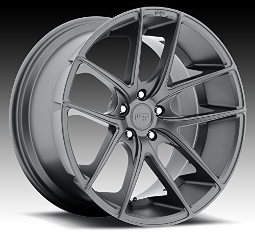 Niche Targa 18 Gunmetal Wheel / Rim 5x120 with a 40mm Offset and a 72.6 Hub Bore. Partnumber - Rims 18 Gunmetal