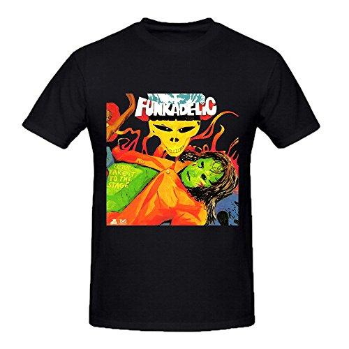 Funkadelic Lets Take It To The Stage Mens T Shirts Design Crew Neck (Funkadelic T Shirt)