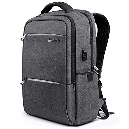 Inateck Laptop Backpack with USB Charging Port, Anti-Theft School Bag...