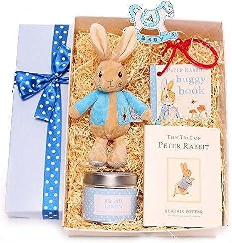 Caja de regalo para bebé, cesta para niña, caja de regalo con ...