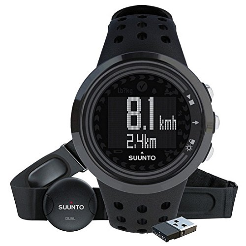 Suunto M5 Men All Black Pack (+M.Mini) - Reloj deportivo, color negro