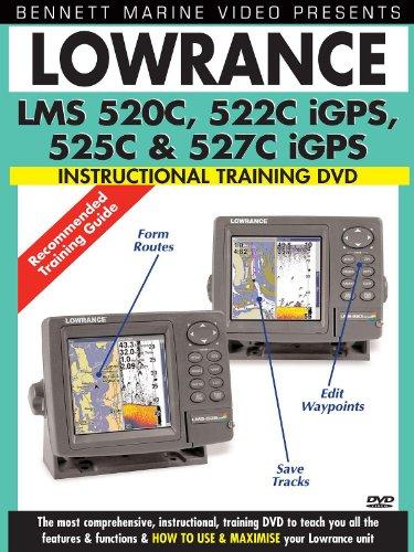 (Lowrance LMS 520C, 522C iGPS, 525C & 527C iGPS Instructional Training Video )