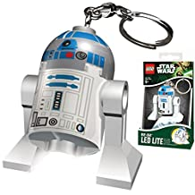Lego Star Wars R2-D2 LED Light Keychain
