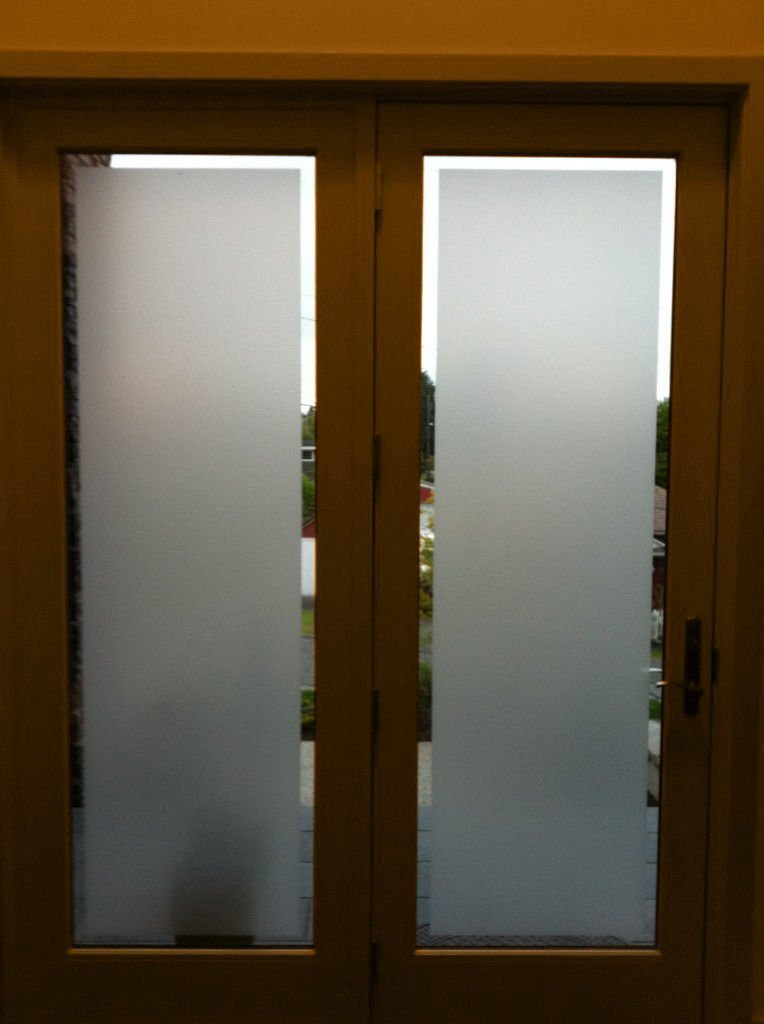 VViViD Frosted glass film 5ft x 4ft home office bedroom window frost furniture privacy decor