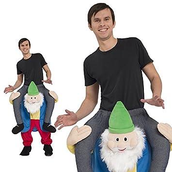 Huckepack Kostum Zwerg Grosse Erwachsene Unisex Karneval 50005