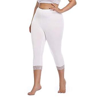 Weant Damen Yoga Kurz Leggings Slim Fit Fitnesshose Sporthosen High Waist 3//4 Spitze Splei/ßen Sport Hosen Elastische Yoga Leggings Kurz H/üfthose Stretch Workout Jogginghose Strumpfhose Gro/ße Gr/ö/ße