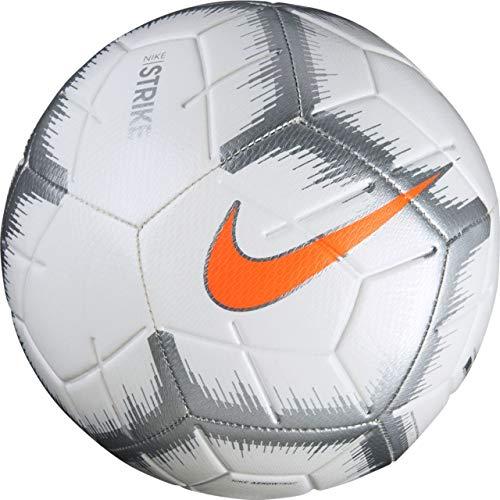 Nike NK Skls Football, Unisex, Fußball NK SKLS, White/Chrome/Total O, 5